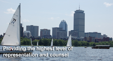 Boston, Massachusetts Law Firm, Providing an unparalleled level of representation and counsel